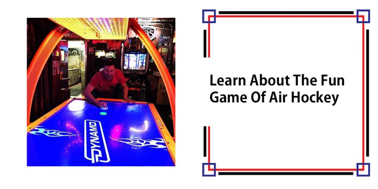 Learn About The Fun Game Of Air Hockey
