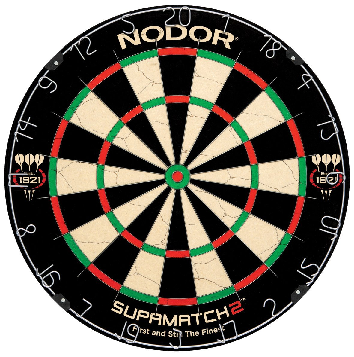 Nodor SupaMatch2 Bristle Dartboard