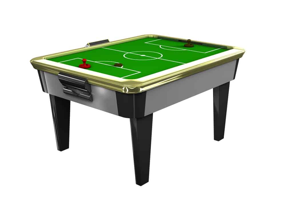 Clean air hockey table top