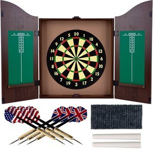 Trademark-Gameroom-Darts-and-Dartboard-Sets-28-Gram-Tungsten-Darts