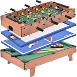 Giantex Multi Game Table Pool Air Hockey Foosball Table Tennis Billiard Combination Game Table