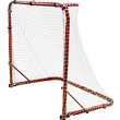Park-Sun-Sports-Street-Ice-Hockey-Goal-with-Folding-Steel-Frame-and-Nylon-Bungee-Slip-Net
