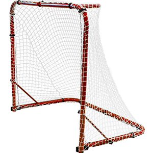 "Park & Sun Sports ""Street Ice"" Hockey Goal with Folding Steel Frame"