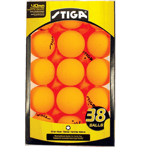 STIGA-1-Star-Table-Tennis-Balls-(3​​​​8-Pack)