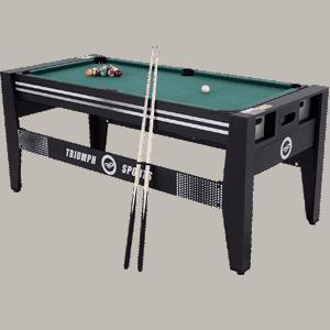 """Triumph-72""""-4-in-1-Multi-Game-Swivel-Table"""