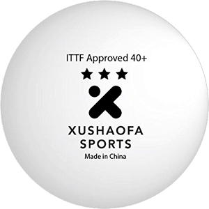 Xushaofa-40+-Seamless-Poly-Table​-Tennis-Balls