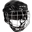 CCM-FitLite-40-Hockey-Helmet-Combo,-Medium,-Black-