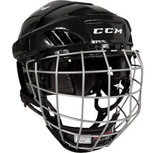 CCM-FitLite-40-Hockey-Helmet-Combo,-Medium,-Black