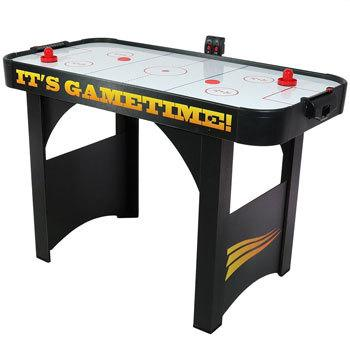 Sunnydaze 48 Inch Air Hockey Table with Scorer