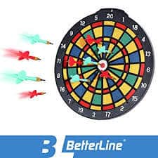 BETTERLINE Safety Dart Board Set