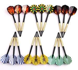 MAXMAU 18 pcs of Soft Tip Darts