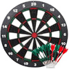 Ylovetoys Dart Board Soft Tip Safety Kids Dart Board