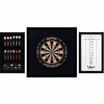 Viper Championship Wood Framed Dartboard Backboard Set