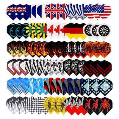 Long Life Durable Wholesale Nylon Dart Flights Sets
